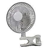 Air King Clip Fan, 6 inch, White