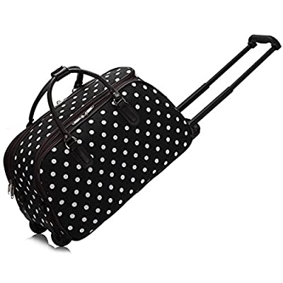 LeahWard Women's Girl's Holdall Luggage Bag Hand Baggage Travel Suitcase Holiday School Bags 005