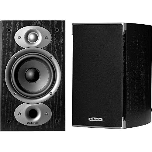 Polk Audio RTI A1 Bookshelf Speakers (Pair, Black)