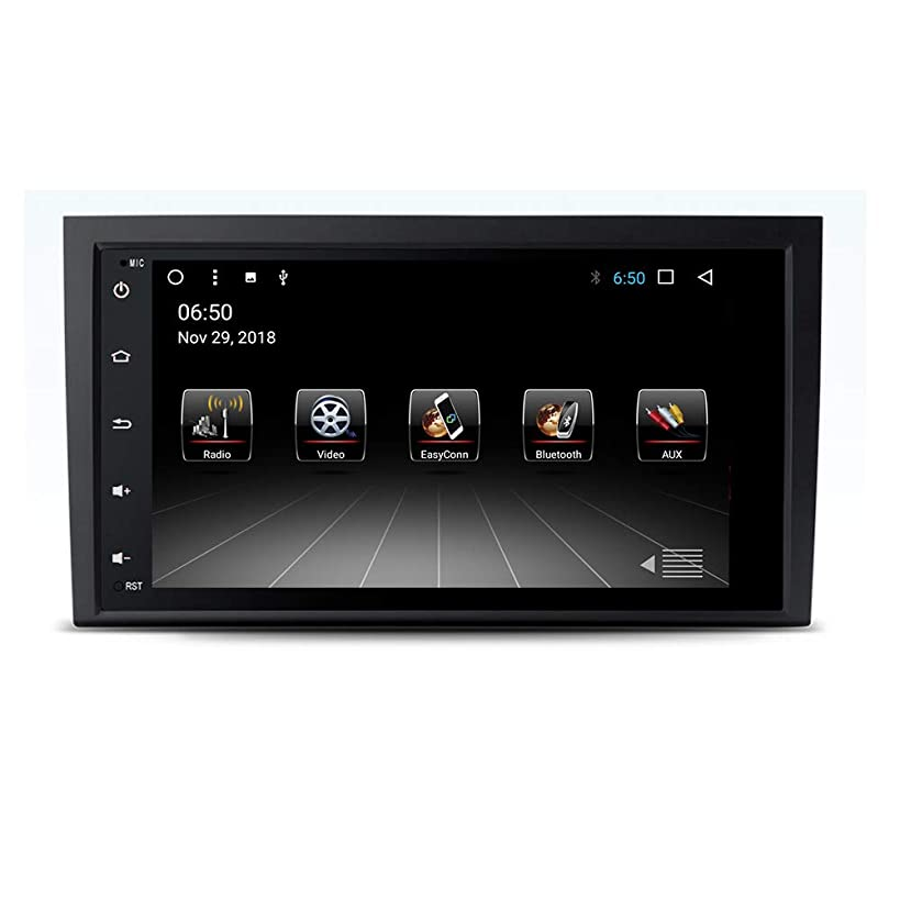 Android 8.1 Car Stereo Audio Navi Video for Audi A4 S4 B6 B7/RS4 SEAT Exeo 2002-2012 Touch Screen Radio with GPS Navigation Bluetooth WiFi Radio Calling (Android 8.1 4/32G for Audi A4 02-12)