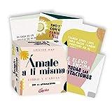 Ámate a ti misma: Libro y cartas con 64 afirmaciones