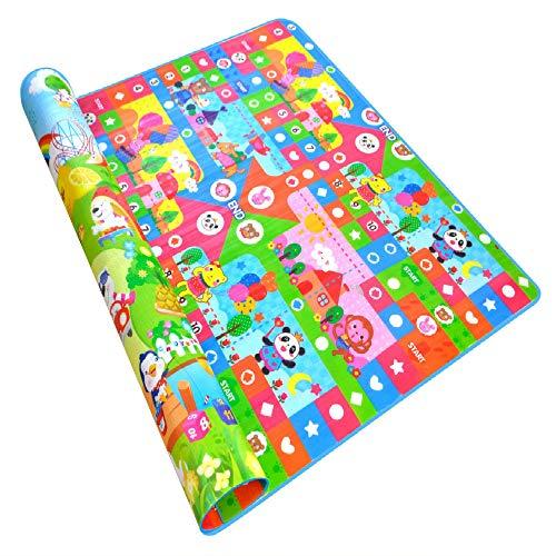 Best Price! 200cm X 180cm Baby Play Mat Puzzle Toddler Crawling Mat Soft Eva Children's Carpet Doubl...