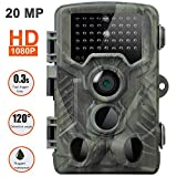SUGERYY [2019 Upgraded Trail Cam Game Camera for Hunting Wildlife Tracking,20MP Hunting Trail