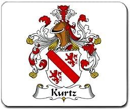 Kurtz Family Crest Coat of Arms Mouse Pad