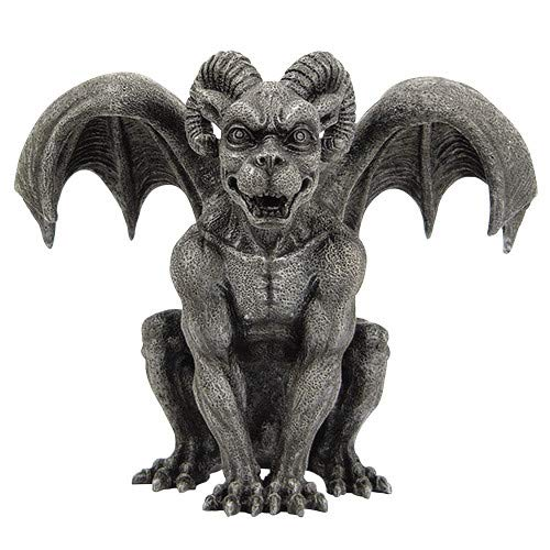 Pacific Giftware Ram Horned Gargoyle Statue Cold Cast Resin Figurine