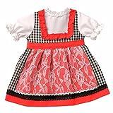 Puppen Kleid Puppen Dirndl von Schwenk für 46 cm bis 50 cm Puppen