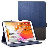 ESR Hülle für iPad 7. Generation Buchdeckel Schutzhülle Kompatibel mit iPad 10,2 2019-Leicht Urban Premium Folio Hülle mit Pencilhalter, Vielseitigem AnsichtsmodusundAuto Schlaf/Wachfunktion, Blau