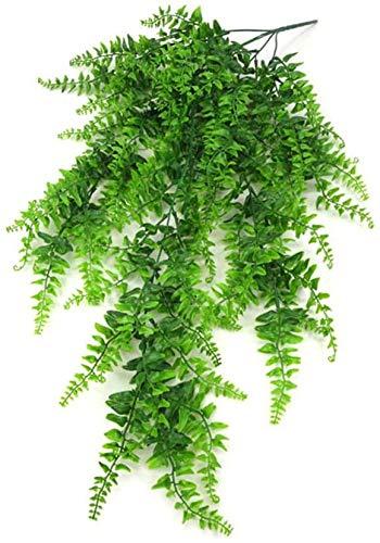 Pkfinrd Kunstmatige Varen Decoratieve Plastic Plant Simulatie Groen Struiken Binnen Buiten Thuis Tuin Kantoor Verandah Bruiloft Decor Col