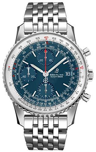 Breitling Navitimer 1 Chronographe 41 A13324121C1A1 Montre Homme Cadran Bleu