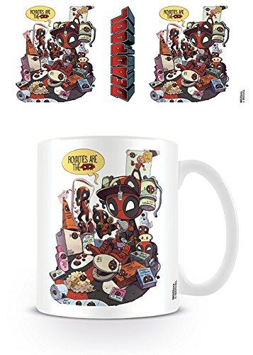 Pyramid International Deadpool Royalties - Taza de café, cerámica, Multicolor, 7,9 x 11 x 9,3 cm
