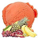 Tropic Flavor 1kg Gino Gelati Ice Powder Helado suave para su heladora