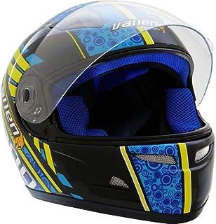 X Capacete Vallen 900 Preto/Azul Gow 56