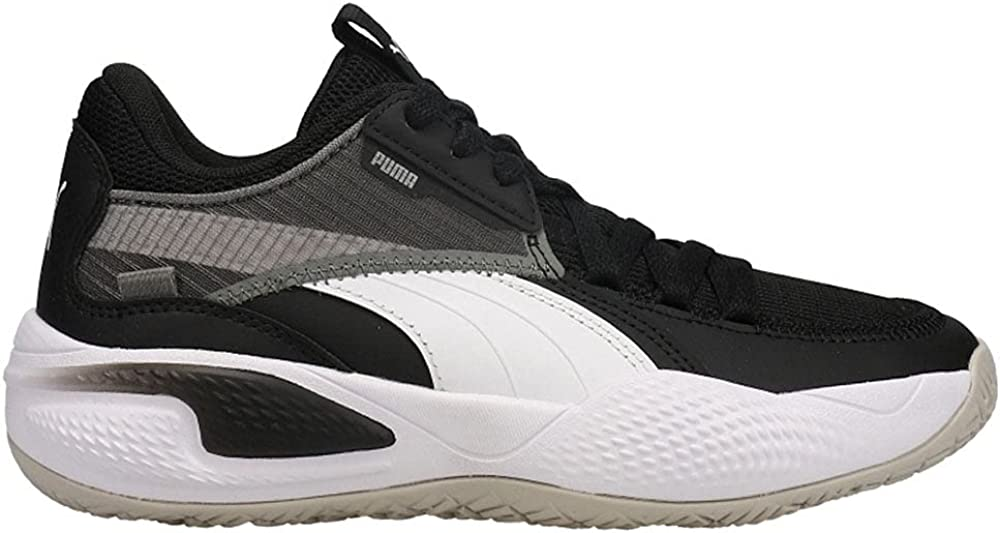 PUMA Kids Super-cheap Boys Court Inventory cleanup selling sale Rider Basketball Shoes - Sneakers Casual Bl
