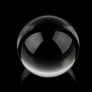 K9 Glass Clear 60mm Natural Quartz Crystal Sphere Clear Magic Ball Chakra Healing Gemstone A Wonderful Gift for All Occasion