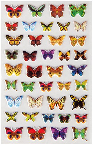 Bestlivings divertente e simpatico Sticker da incollare, Sticker con animali, disponibile in tanti diversi motivi Schmetterlinge 2