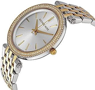 ساعة للنساء من مايكل كورس دارسي - انالوج بسوار ستانلس ستيل - MK3215.
