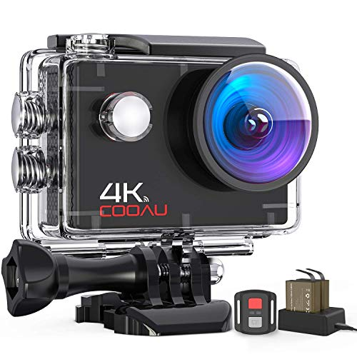 COOAU Action Cam HD 4K 16MP, Subacquea...