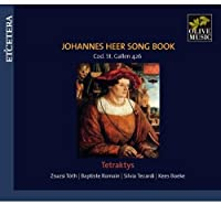 Johannes Heer Song Book Tetraktys