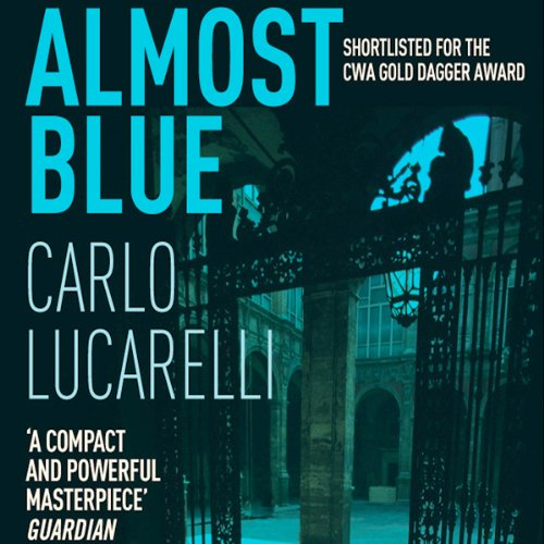 Almost Blue audiobook cover art