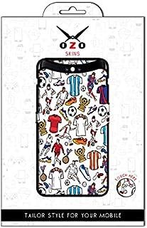 لاصقة حماية من اوزو رسومات رياضية لموبايل Vivo Y20s