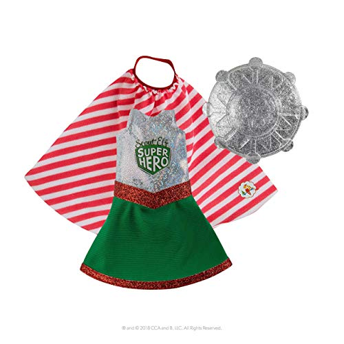 E-TING Santa Couture Clothing for elf Doll is not Included Hat+Sock+Scarf