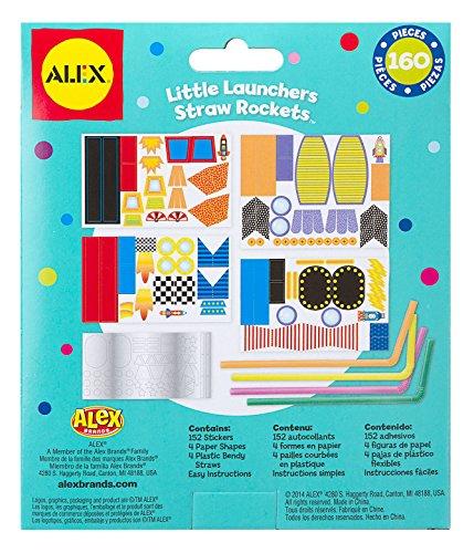 Alex Toys Little Launcher Straw Rockets POPS Craft