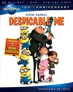 Despicable Me [Blu-ray] (Bilingual) (B006TTC5QS) | Amazon price tracker / tracking, Amazon price history charts, Amazon price watches, Amazon price drop alerts