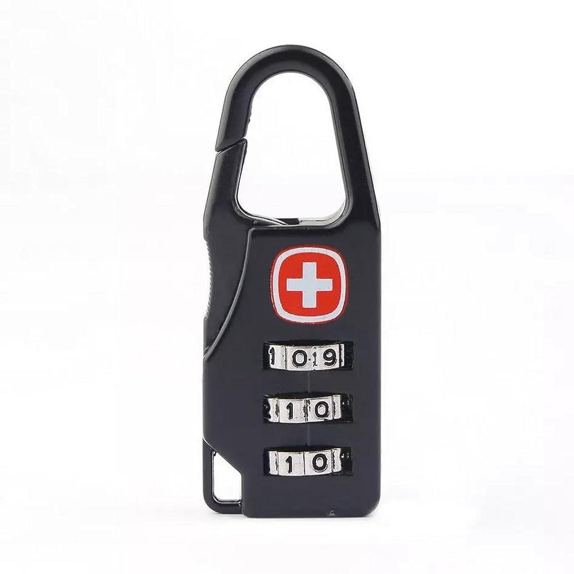 触手によってオーストラリア人(スタイルグラス)StyleGlass ダイヤルロックファスナー ロック 旅行用 頑丈 ワンタッチ 簡単 セキュリティ 軽量 安心 安全 ダイヤルロック 南京錠 鍵 スリ防止