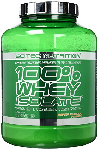 Scitec Nutrition Protein Whey Isolate, Beere-Vanille, 2000g