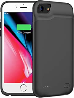 Battery Case for iPhone 6/6s, 6000mAh Portable Protective Charging Case Compatible with iPhone 6/6s (4.7 inch) Rechargeable Extended Battery Charger Case (Black)