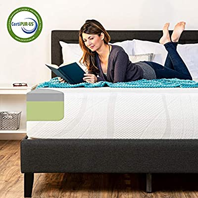 Best Choice Products 3-Layer Green Tea & Bamboo Charcoal Gel Infused Medium Memory Foam Mattress w/CertiPUR-US Certified Foam