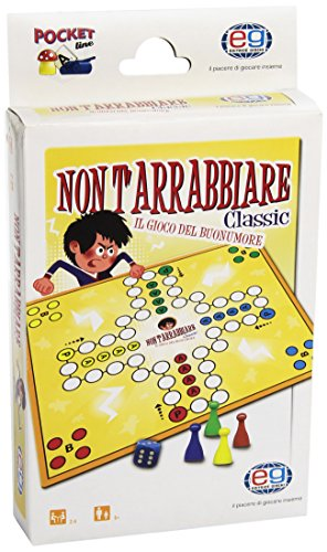 Editrice Giochi- Gioco Non T'Arrabbiare Pocket, 6034021