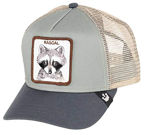 Goorin Bros. Trucker Cap Trash Eater - Gorra, color gris gris Talla única
