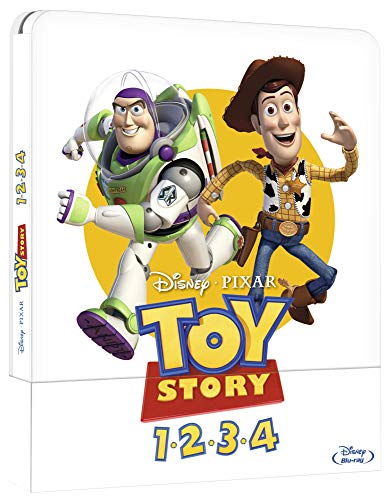 Toy Story Collection Bluray Steelbook (4 Blu Ray)