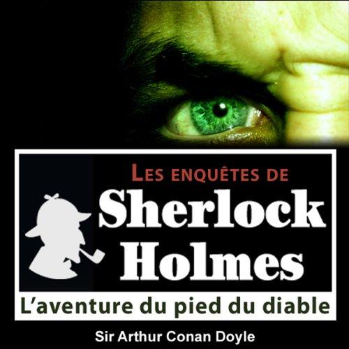 Couverture de L'aventure du pied du diable (Les enquêtes de Sherlock Holmes 43)