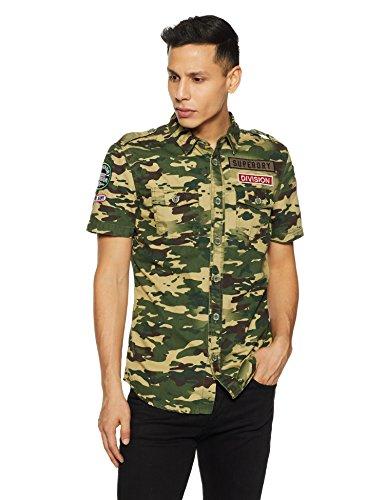 Superdry Camo Lite - Camisa de cuerpo militar