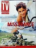 TV MAGAZINE LE FIGARO [No 20569] du 18/09/2010 - MISS FRANCE / LA NOUVELLE VAGUE - COMMENT ELLES ONT PRIS LE POUVOIR - MALIKA MENARD - HARRY ROSELMACK AVEC LES PARAS FRANCAIS EN AFGHANISTAN