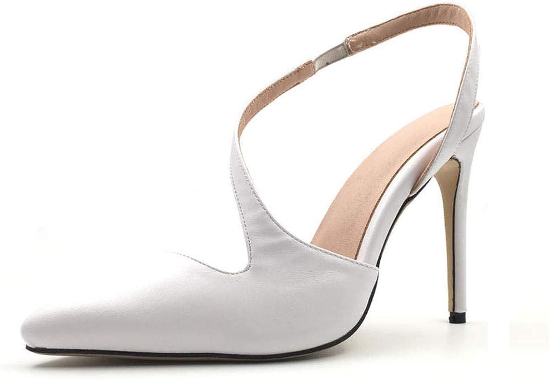 Sandalen Europa Und Amerika Damen Pu Mode 10 cm Sexy Wilde Bequeme Nachtclub Spitzen Hochhackigen Sandalen