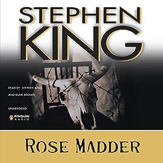 Rose Madder audiobook cover art
