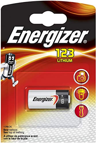 Energizer 628290 Lithium-Batterie, Photo 123, 1 Stück