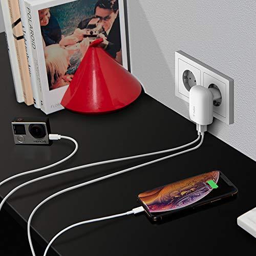 Belkin USB-C-Ladegerät, 30W (Schnellladegerät für iPhone12, 12Pro, 12Pro Max, 12 mini, 11, 11Pro/ProMax, XS, XSMax, XR, X, SE, 8, 8Plus, iPad Air 2020, iPad der 8. Gen)