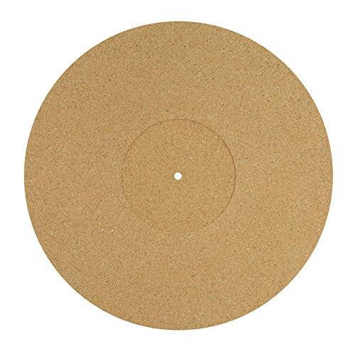 Dynavox Plattentellerauflage PM3 ,Kork, antistatisch, 30cm Durchmesser
