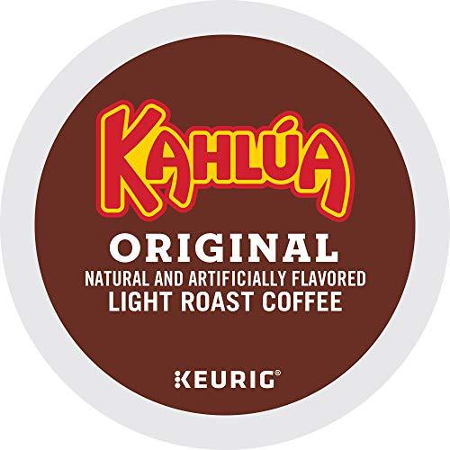 Kahlua Original, Single-Serve Keurig K-Cup Pod, Light Roast Coffee, 72 Count