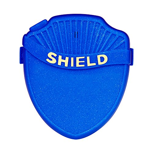 Shield Prime Bedwetting Enuresis Alarm for Boys & Girls with Loud Tone, Light & Vibration Best Bedwetting Alarm for Deep Sleepers to Stop Nighttime Bedwetting V2 (Blue)