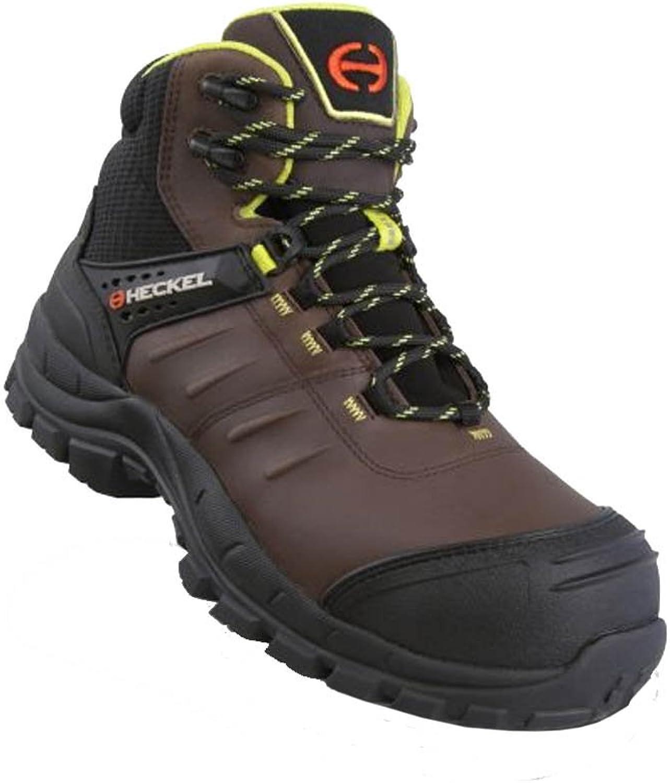 Heckel MACsole Adventure MACCROSSROAD Brown 2.0 S3 Ci Hi HRO SRC - Work shoes Safety Footwear - 100% Metal Free