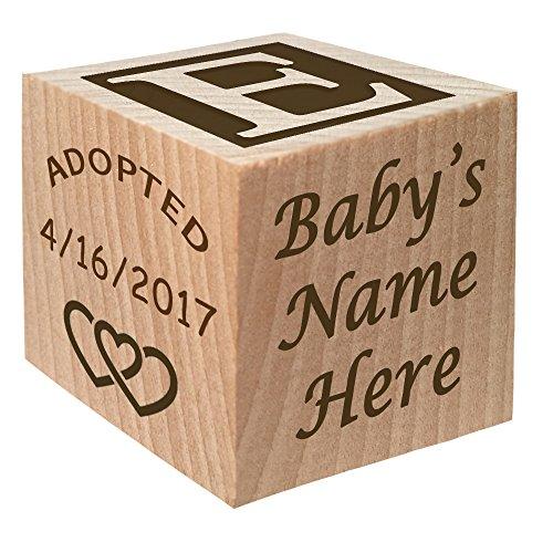Personalized Wooden Block Keepsake Gift