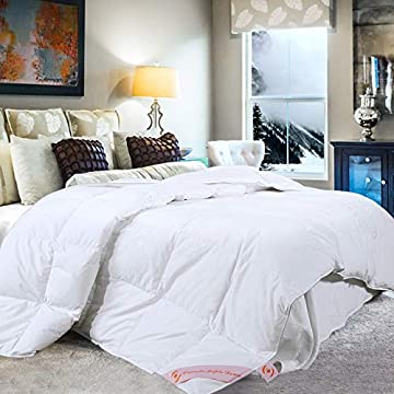 White Goose Down Hypoallergenic Hotel Quality Duvet