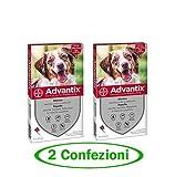 advantix Spot-ON per Cani Oltre 10 kg Fino a 25 kg - Offerta 2 Confezioni