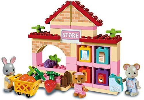 Unico- ANDRONI Giocattoli Costruzioni Plus Max Family M/Market, Multicolore, 8939-0max