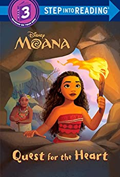 Quest for the Heart (Disney Moana) (Step into Reading) by [RH Disney]